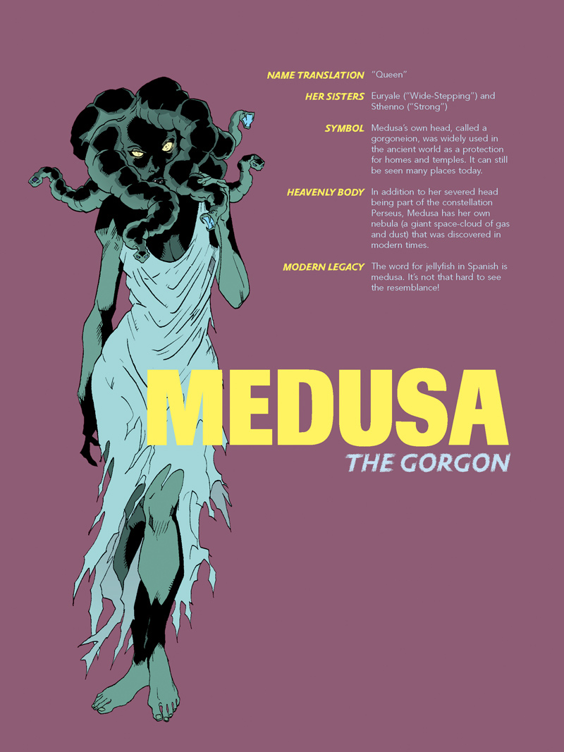 Medusa-Pin-up