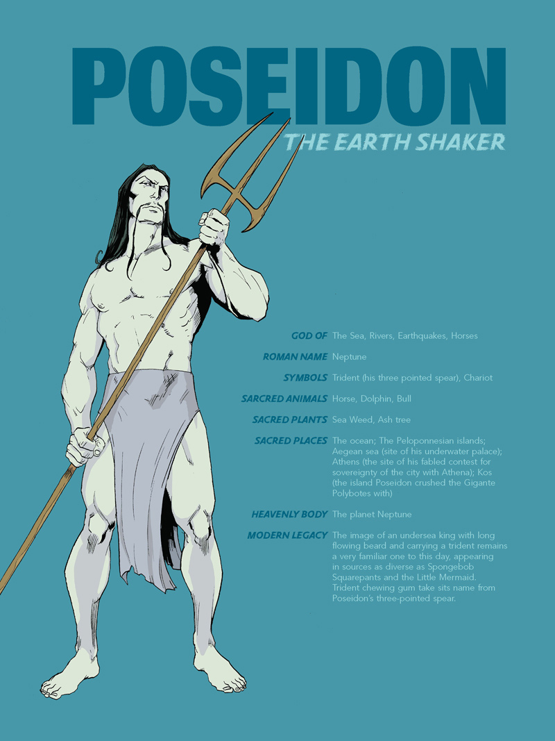 Poseidon-Pin-up
